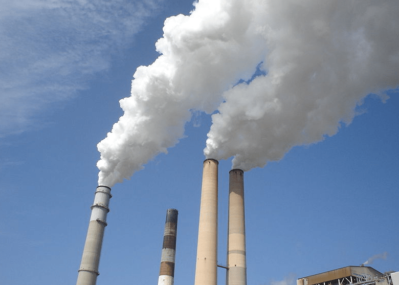 inkline-gas emissions