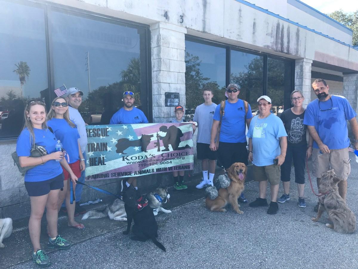 Koda's Choice INKLINE Rescued dogs