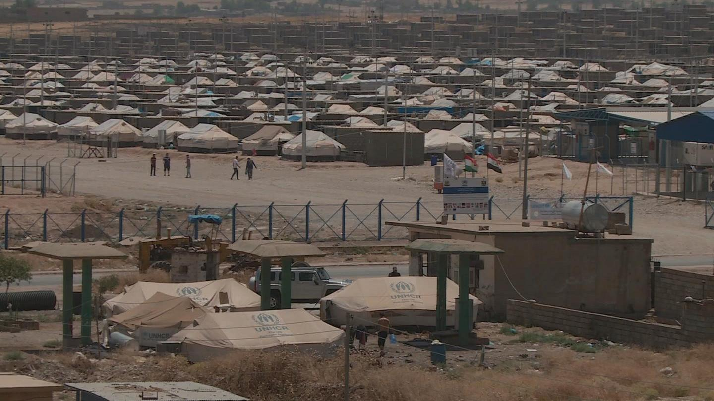 A Refugee Camp in Iraq