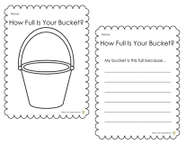 How Full Is Your Bucket activity preview