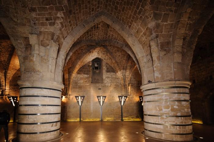 Knights Halls, Hospitaller fortress