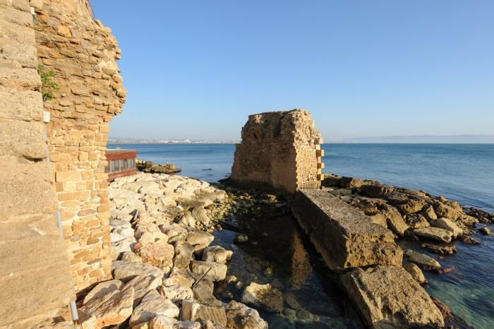 Pisaner Hafen in Akko (aus der Zeit der Kreuzzüge)