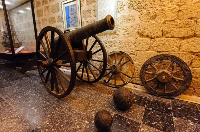 Cannon from Napoleon Bonaparte's Palestine campaign
