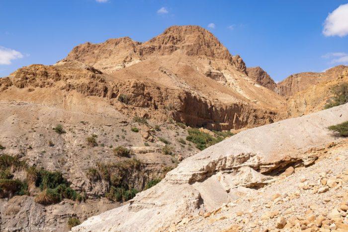 Zafit Trail und Nahal David im En Gedi Natuschutzgebiet