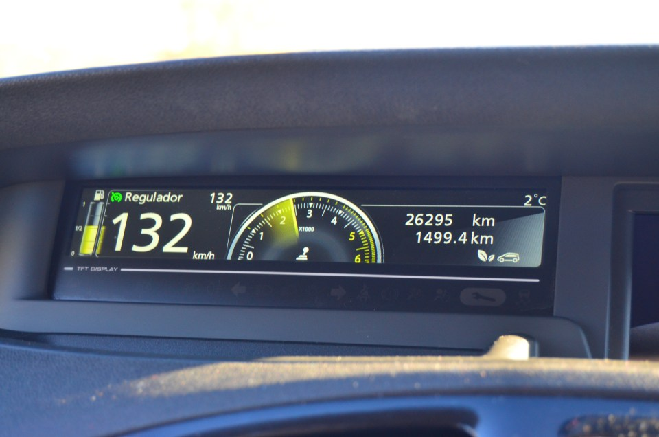 Spanish Car dashboard. Photo Credit: Joyce Bredesen