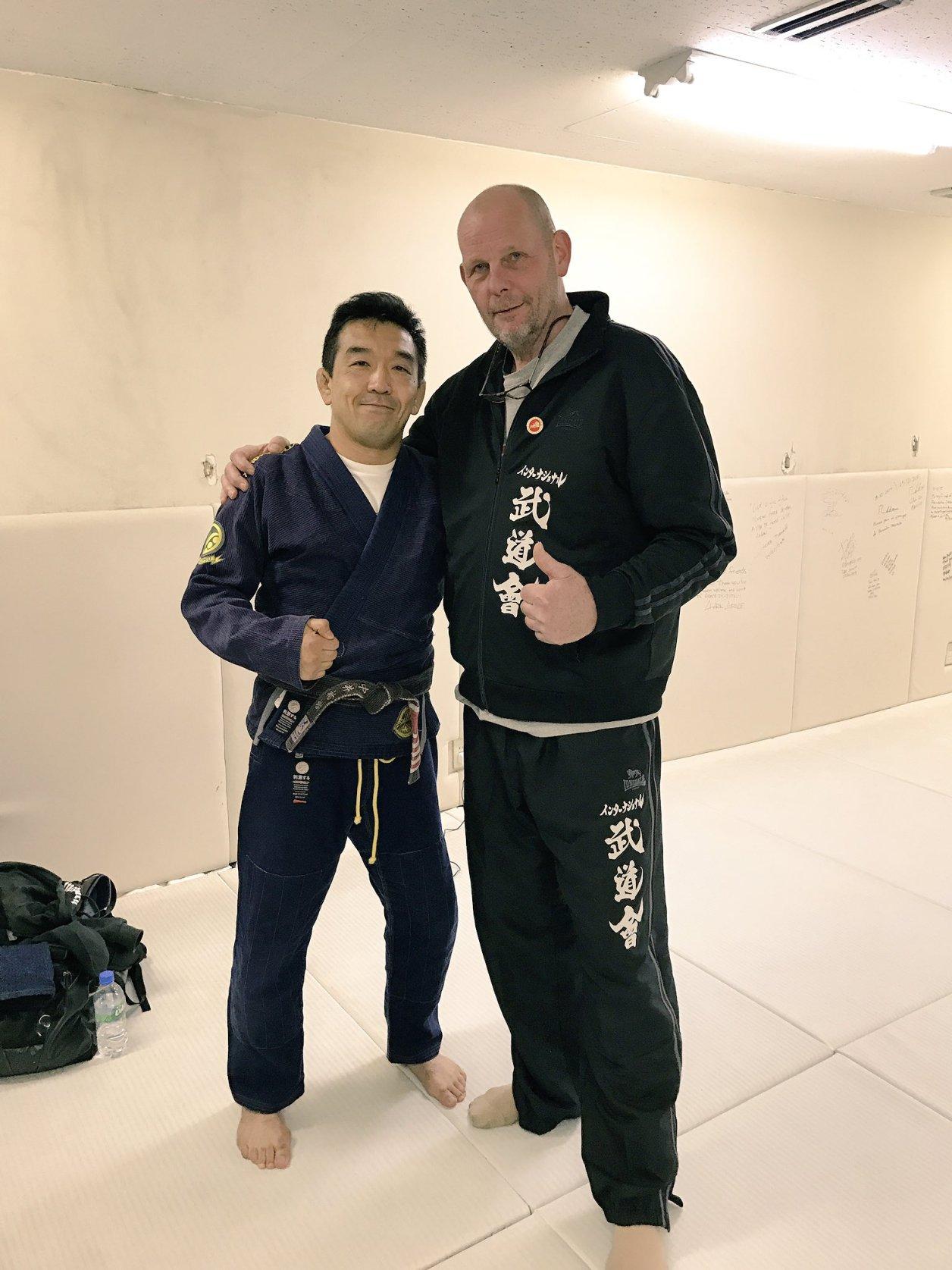 中井祐樹氏とジェラルド・ゴルドー氏
