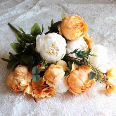 Artifical-flowers-peony-pink-peonies-fake-plants-artificial-the-little-flower-shop-florist-london-uk-delivery-faux-flowers-artificials-vintage-orange-artifical-bouquet-7