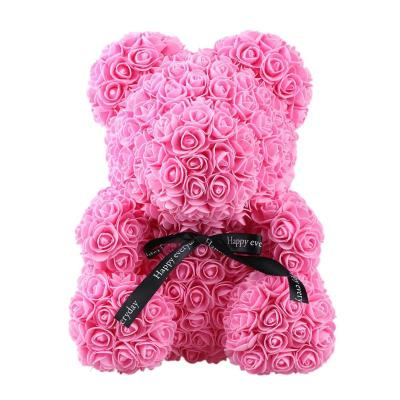 valentines-day-mothers-day-teddy-bear-flowers-flower-rose-teddy-bear-made-of-flowers-love-teddy-toy-rose-flowers-the-little-flower-shop-PINK