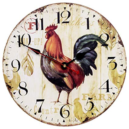 rooster-chicken-fowl-gallus-gallus-decorative-wall-clock-stainless-the-little-flower-shop-gifts-for-all-occasions-florist-london-unique-gifts-online-tea-time-clock-FLORAL-Clock