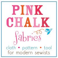 Finish Along Sponsor Highlight – Pink Chalk Fabrics