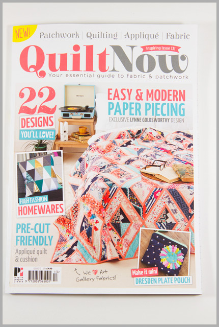 Quilt Now Issue 13