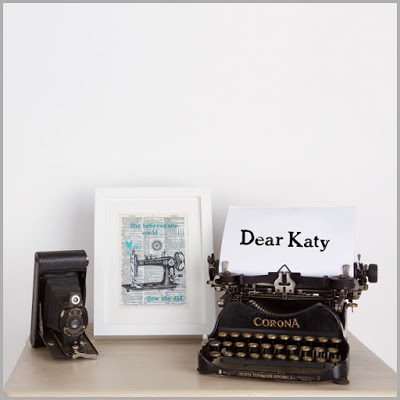Dear Katy – Confessions Of A Fabricaholic