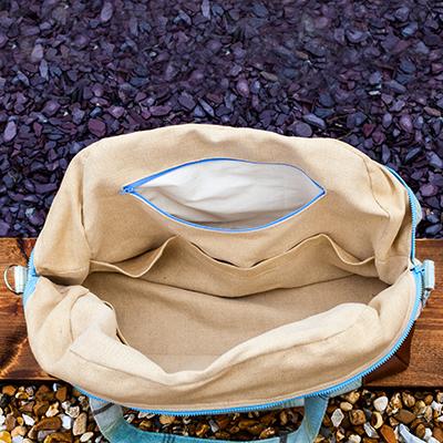 Inside Traveller Bag