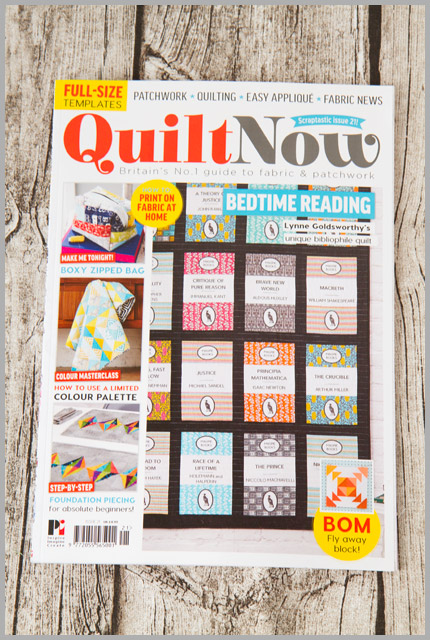 Quilt Now Issue 21
