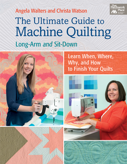 Ultimate Guide To Machine Quilting Cover