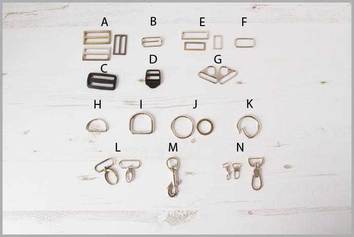 Bag Making Hardware Glosary Part 1 – Straps & Handles – Bag Making Basics