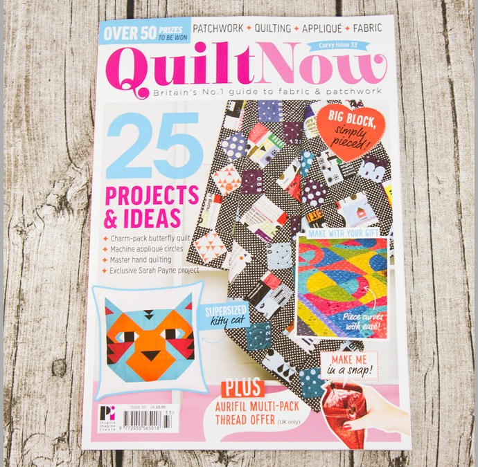 Quilt Now Issue 33