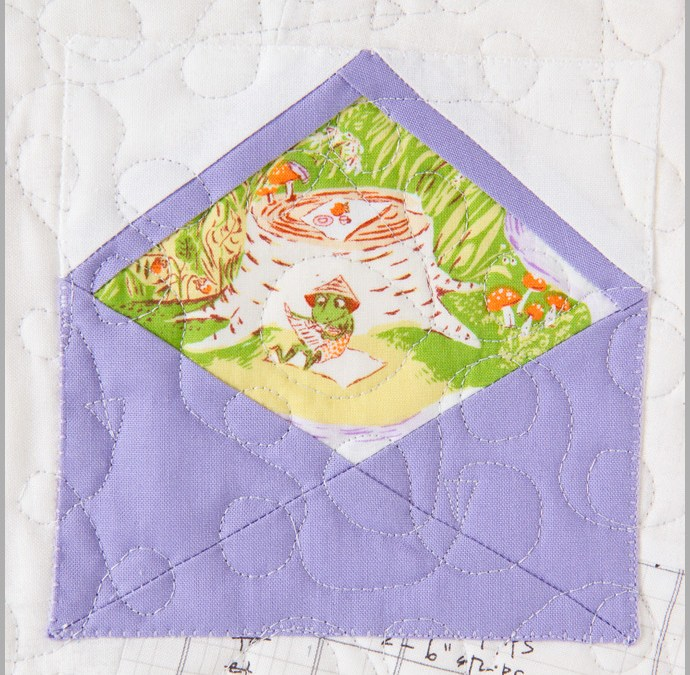 Happy Easter Envelopes – Free Foundation Paper Piecing Pattern