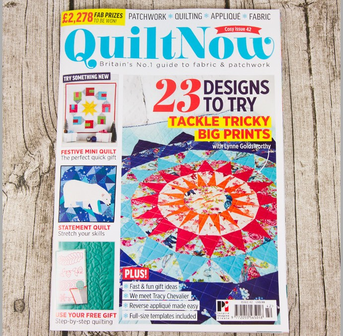 Quilt Now Issue 42 – Christmas Oven Gloves