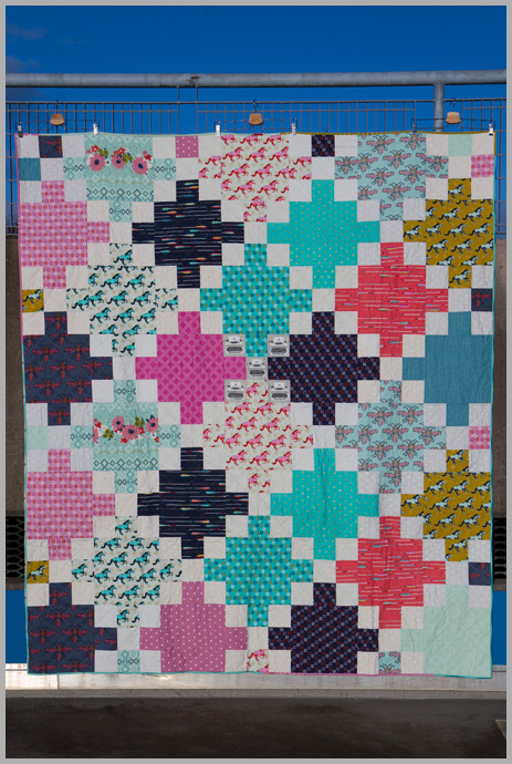 A Finish And A Possible Big Print Quilt Option The Littlest Thistle