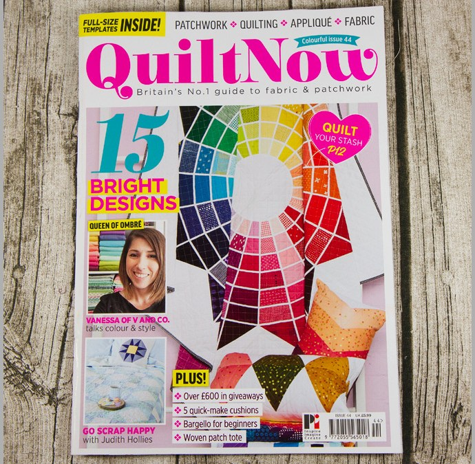 Quilt Now Issue 44 – Woven Tote