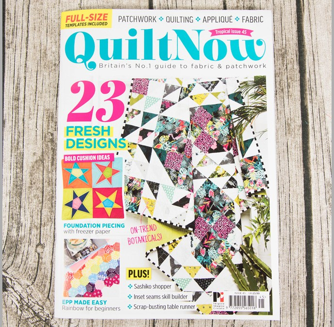 Quilt Now Issue 45 – Heart Cushion