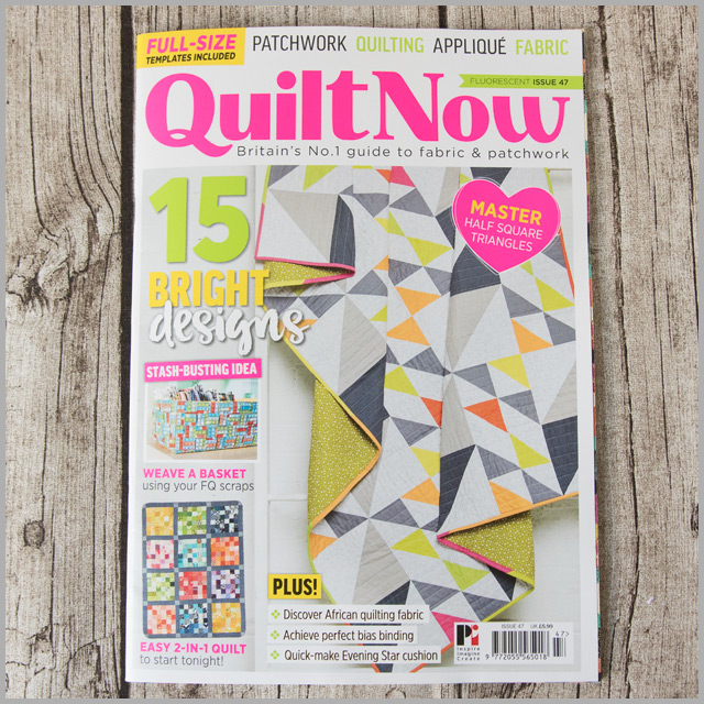 Quilt Now Issue 47 – Woven Easter Basket