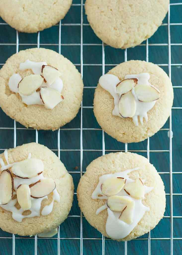 For all almond lovers - The Ultimate Almond Cookie - moist, delectable and unforgettable.