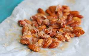 Caramel Candied Almonds