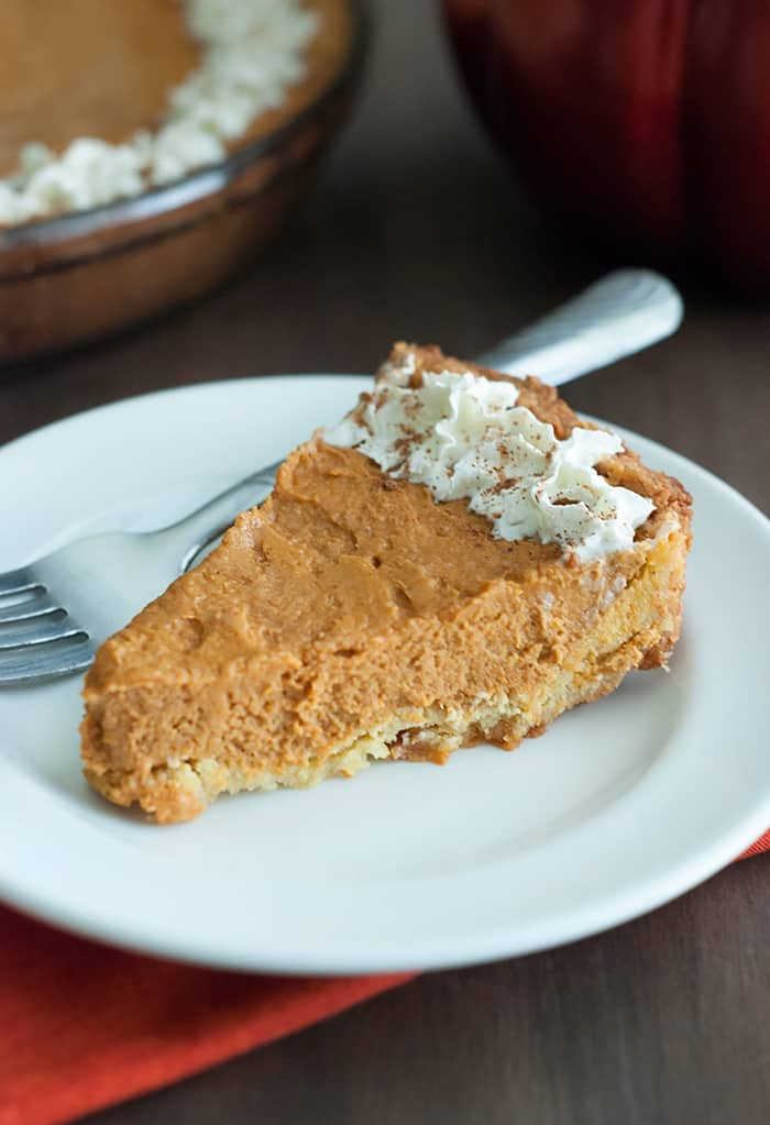 Low Carb Pumpkin Pie The Low Carb Diet
