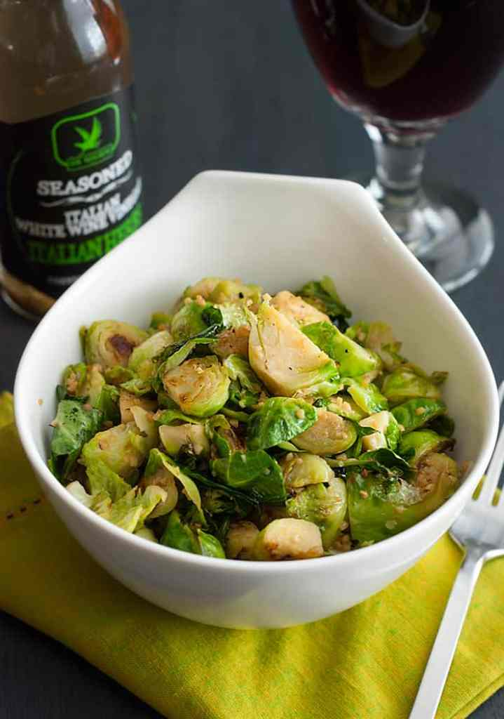 The BEST Brussel Sprouts EVER!