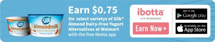 Ibotta Silk Milk Coupon