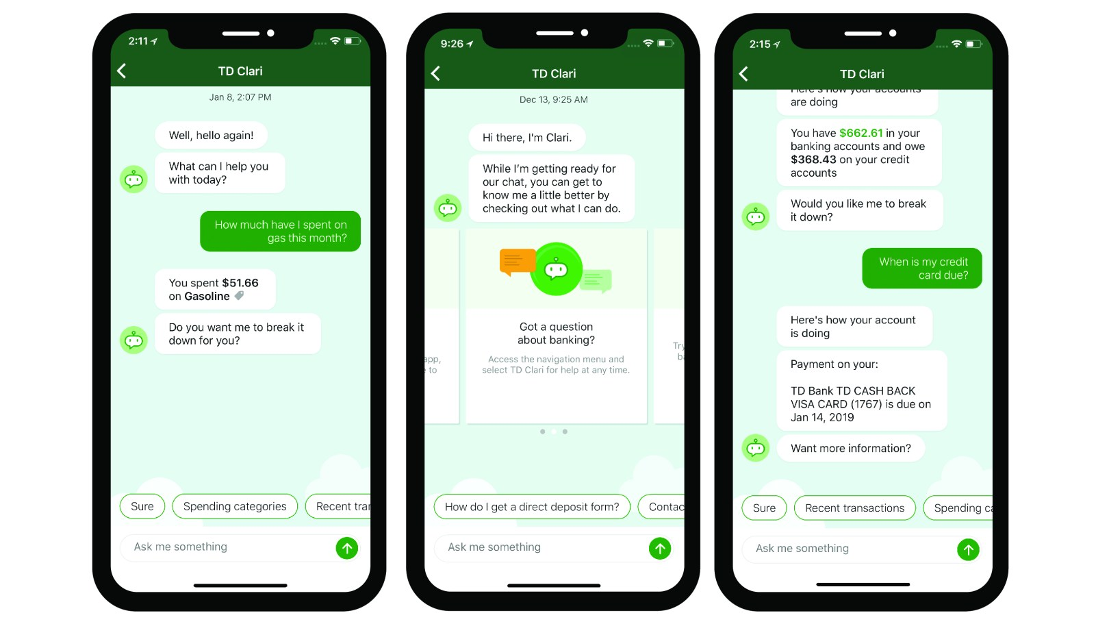 Hello Clari: Why TD introduced a new chatbot to customers -