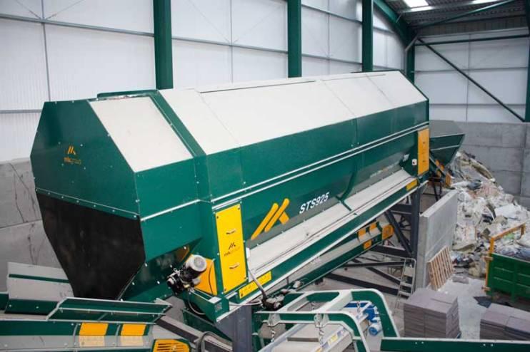 Waste Recycling Equipment Trommel Screen