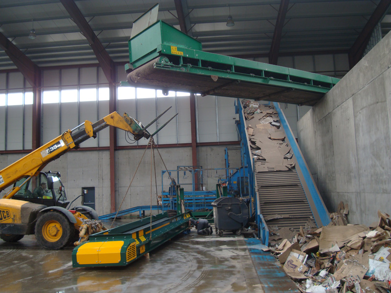 Solid Recovered Fuel (SRF) Conveyors for SRF Plant