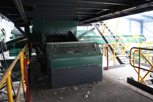 Solid Recovered Fuel (SRF) - Eddy Current Separator Lancashire Waste Recycling's Solid Recovered Fuel (SRF) Plant