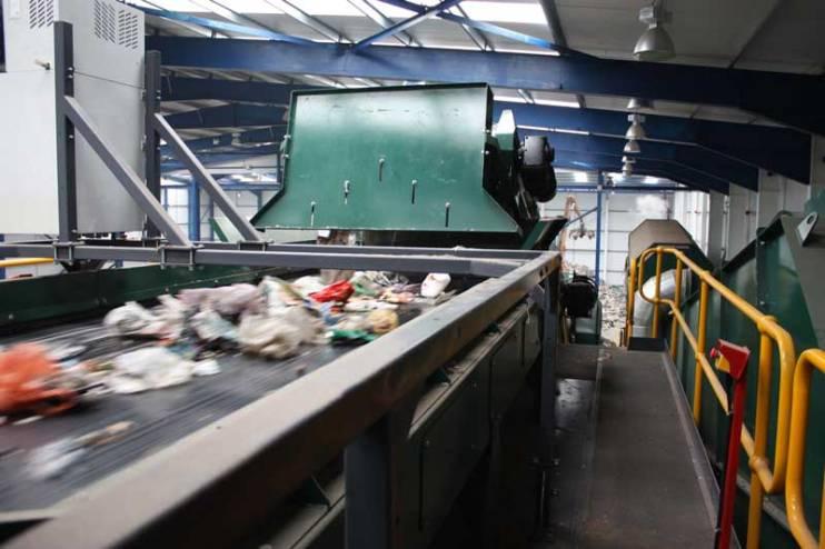 Solid Recovered Fuel (SRF) - Optical Sorter Lancashire Waste Recycling's Solid Recovered Fuel (SRF) Plant