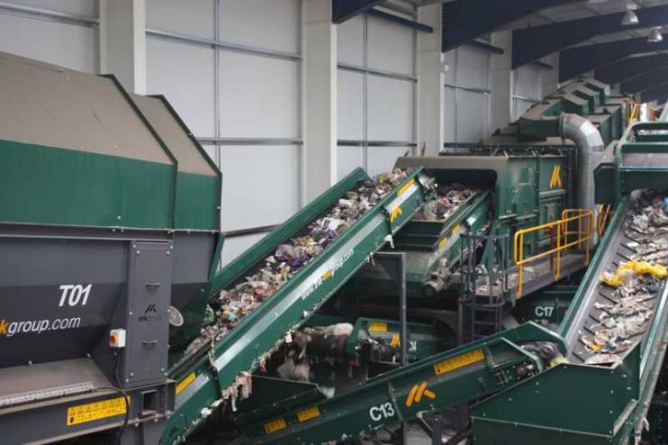 Solid Recovered Fuel (SRF) - Trommel, Air Density Separator Lancashire Waste Recycling's Solid Recovered Fuel (SRF) Plant