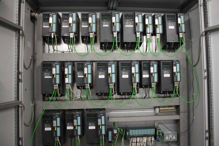 Automation and Control Electrical Panel