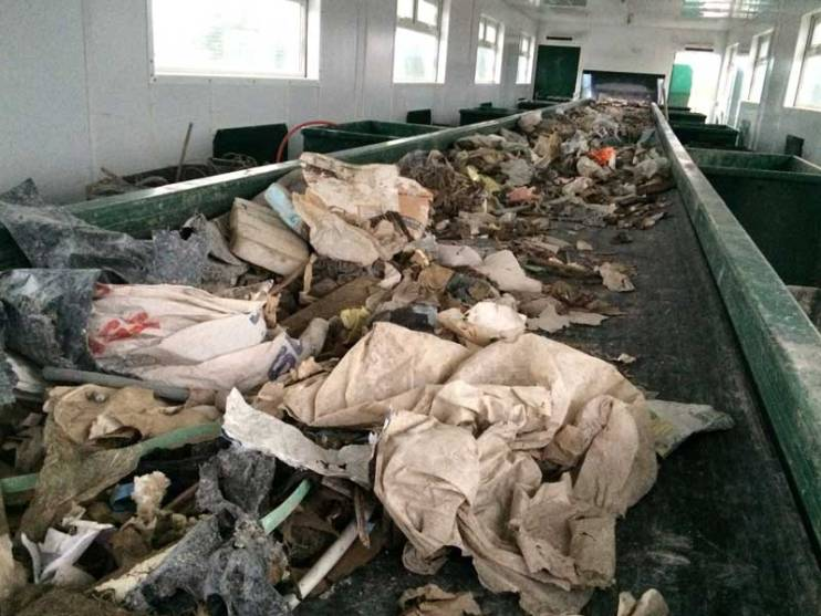 Picking Belt Waste Recycling Equipment
