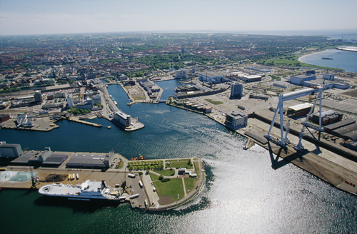 Malmö port