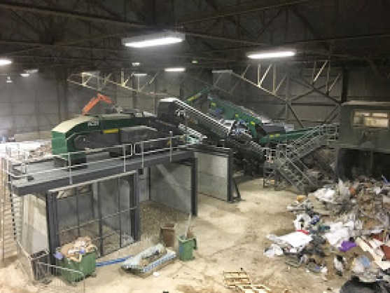 Waste Screen I 2 Stage Air Density Separator I Trommel Fines