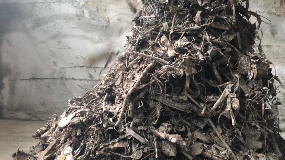 Incinerator Bottom Ash (IBA) Ferrous Clean Up Clean Ferrous