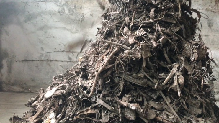 Incinerator Bottom Ash (IBA) Ferrous Clean Up Clean Ferrous