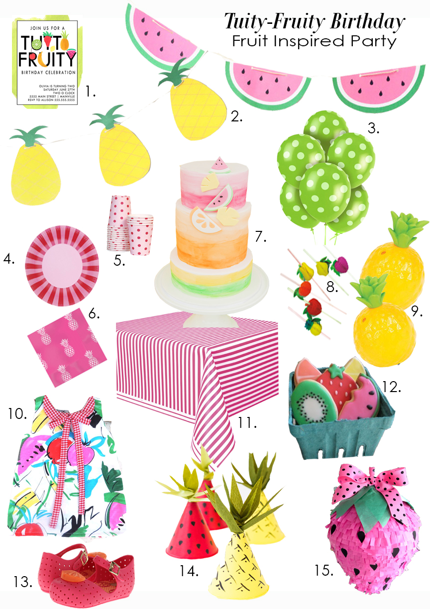 TWOty Fruity Party