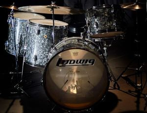Bonzo's black Ludwig drums kit from '68