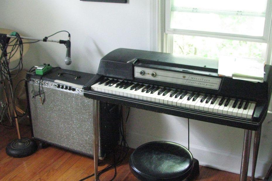 Wurlitzer electromos zongora