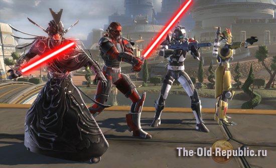Новая броня Империи в аддоне RotHC (HD скриншот)