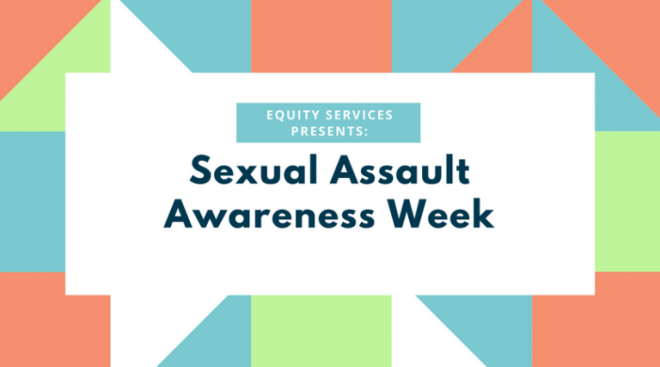 Announcement for Sexual Assault Awareness Week