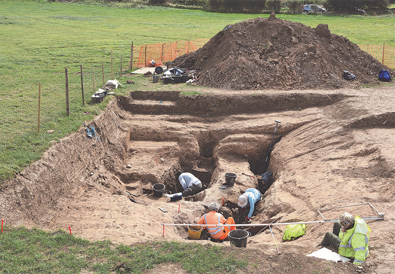 Dig finds 6,000-year-old salt production site in Yorkshire